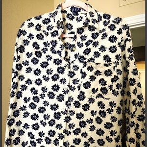 Like new floral men's button down shirt S